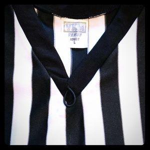 Men's Large Referee Officials V-NECK Shirt